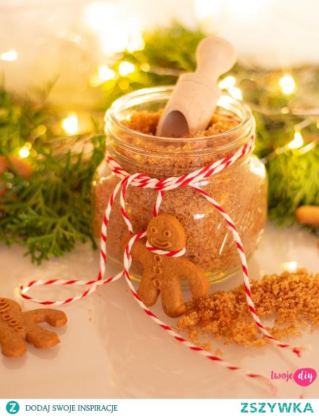 Cukrowy peeling o zapachu piernika idealny na prezent.