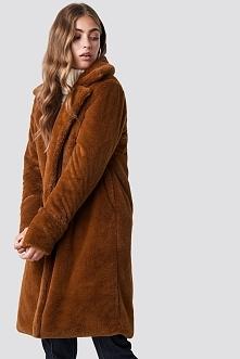 Rut&Circle Płaszcz Luna - Brown