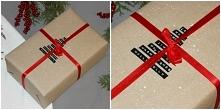 ten i inne pomysły na pakowanie prezentów już na blogu