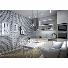 Białe cegły Credo / Hendo d...