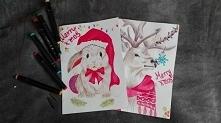 kartki świąteczne diy :D