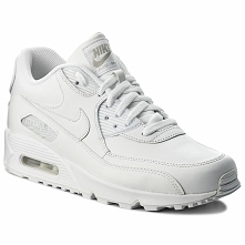 Buty NIKE - Air Max 90 Leather 302519 113 True White/True White