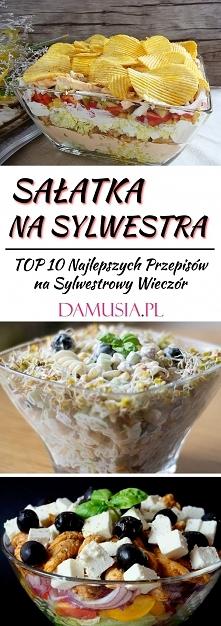 Sałatka na Sylwestra – TOP 10 Najlepszych Przepisów