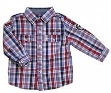 Carodel Koszula Chłopięca 62 Czerwono-Niebieska