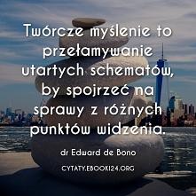 Dr Edward de Bono cytat o t...