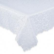 Obrus teflonowany biały 150x260 cm