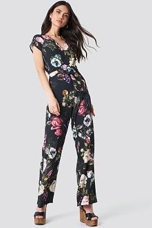 Trendyol Kombinezon w kwiaty - Multicolor