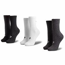 Zestaw 3 par wysokich skarpet unisex ASICS - 3PPK Crew Sock 155204 Assorted 0701