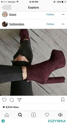 Cherry boots