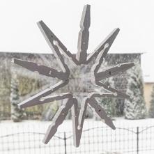Klamerkowa śnieżynka