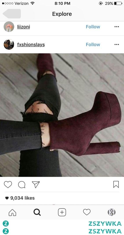 Cherry boots
