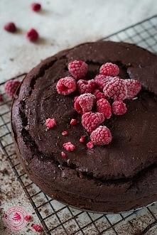 Czekoladowe ciasto z malinami - Najlepszy przepis - Wypieki Beaty