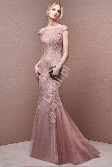 Przepiękna suknia wieczorow...