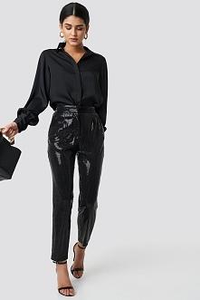 Trendyol Payet Cropped Pants - Black