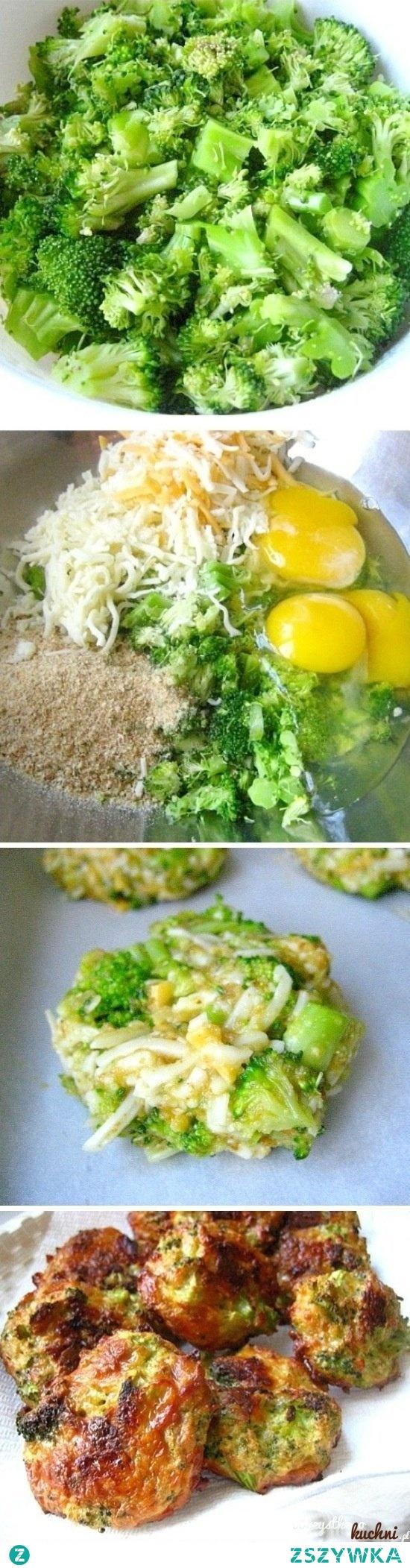 placuszki brokułowe...  potrzebujesz: brokuły, bułke tartą, jajka ser żółty i przyprawy