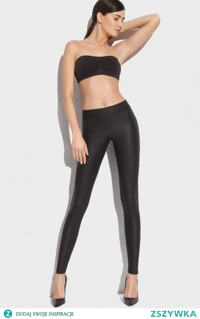 Gatta New York 01 legginsy Klasyczne legginsy damskie, pełne krycie oraz elastyczność, miękki i delikatny dla skóry materiał