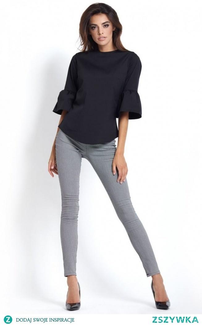 Ivon Sava legginsy pepitka Doskonałe legginsy damskie wykonane z elastycznej dzianiny w modny wzór w pepitkę, fason świetnie dopasowuje się do nóg, legginsy będą świetnie wyglądać w zestawieniu ze szpilkami jak i trampkami