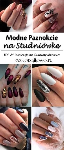 Modne Paznokcie na Studniówkę: TOP 24 Inspiracje na Cudowny Manicure