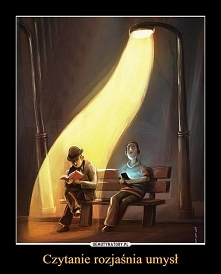 czytanie rozjaśnia umysł