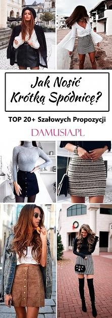 Spódnica Mini: Jak Nosić Krótką Spódnicę? – TOP 20+ Modnych Inspiracji