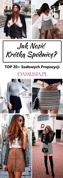 Spódnica Mini: Jak Nosić Kr...