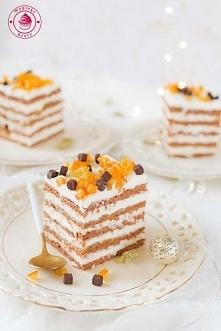 Kostka czekoladowo-pomarańczowa - Wypieki Beaty