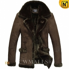 Men Shearling Coats | CWMALLS® Rome Custom Sheepskin Jackets CW807136 [Free Shipping]