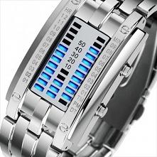 Nietuzinkowy Zegarek LED.  ...