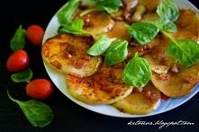 Plasterki a'la z ziemniaka w wersji low carb :)