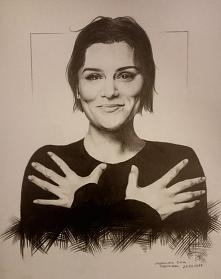 Rysuję portrety na zamówienie! Przedstawiam Wam Jessie J w technice ołówkowej...