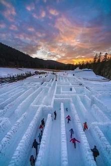 Śnieżny labirynt - Zakopane.