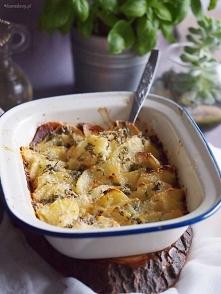 Ziemniaki zapiekane z serem...