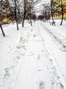 I w Łodzi zima ;-)❄️