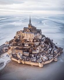 Mont Saint-Michel (Normandia, Francja), fot. @_andre.diaz
