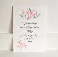 Miłosna pocztówka z cytatem