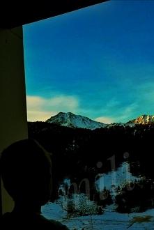 poranne pożegnanie z górami...