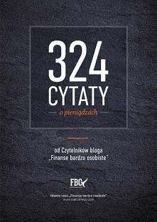 """Darmowy ebook """"324 cyt..."""