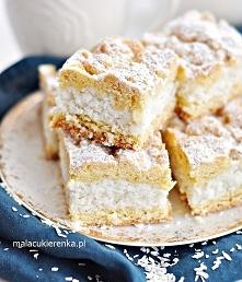 Ciasto Apetyczny Kokosowiec. Przepis po kliknięciu w zdjęcie.
