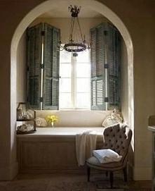 okiennice w łazience
