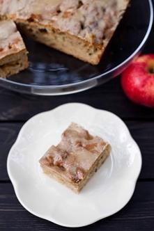 Ciasto z jabłkami i orzecha...