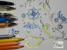 Kwiat - element ozdobny - W...