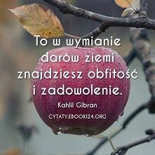 Kahlil Gibran cytat o obfit...