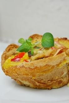 Muffiny wytrawne - jajeczne...