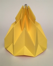 Abażur klosz Origami Rakiet...