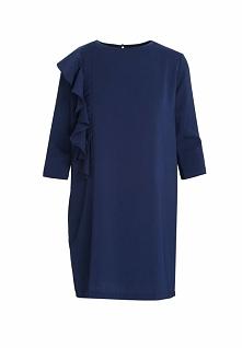 Granatowa Sukienka Accumulate