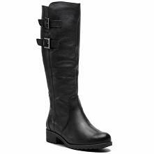 Oficerki CAPRICE - 9-26600-21 Black Nappa 022