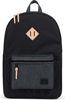 Plecak damski Heritage 21,5L czarny [10007-02099]