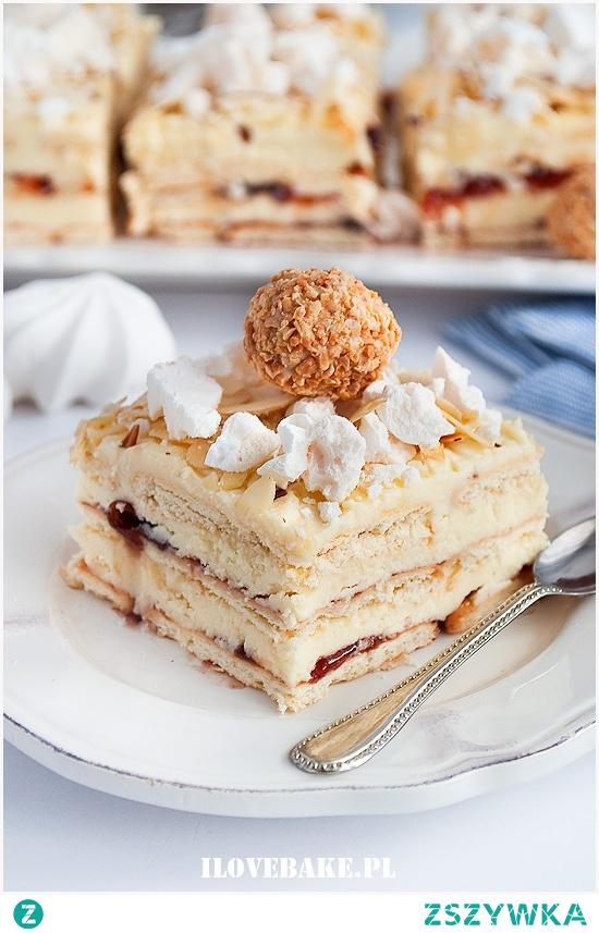 Ciasto Pani Walewska bez pieczenia