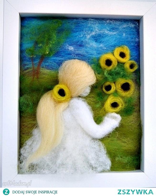 Słoneczniki. Obraz z kolekcji  Die verzauberte Welt