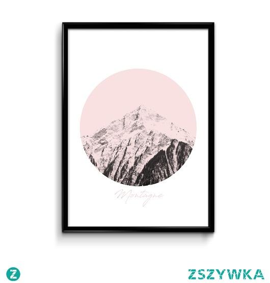 Montagne plakat